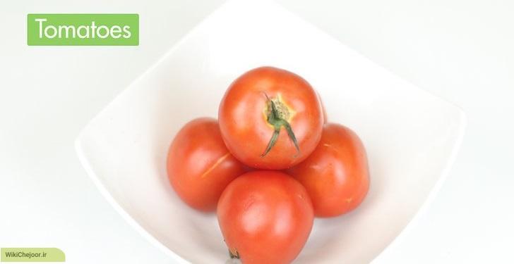 تهیه آب گوجه فرنگی با گوجه های تازه