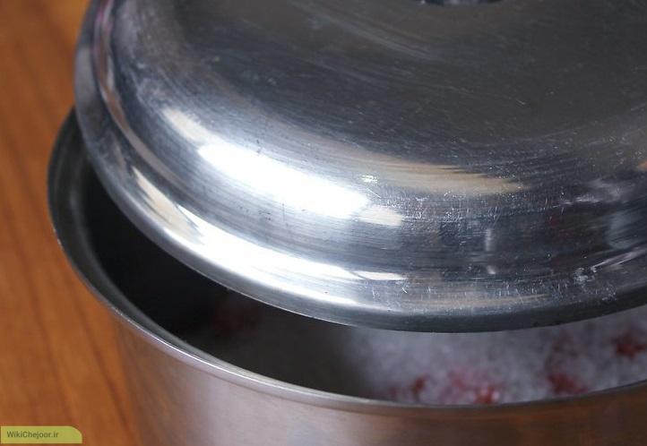 روش آهسته (پختن گیلاس ها )