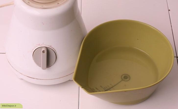 تهیه ی شیر نارگیل از نارگیل تازه