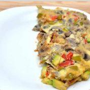 نحوه پخت املت سبزیجات و پنیر ایتالیایی: