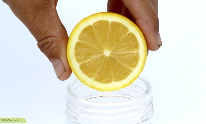 آب لیمو را بگیرید