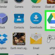 چگونه فایل های گوگل درایو را در اندروید کپی کنیم؟