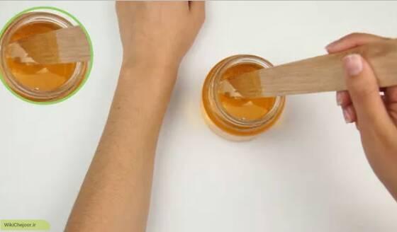 نحوه استفاده از موم شکر