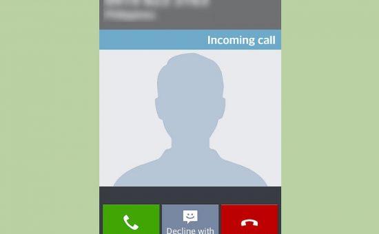 چگونه می توان یک تماس تلفنی را با یک پیام متنی رد کرد؟