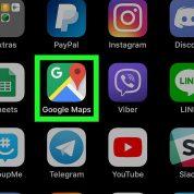 چگونه صدای google map را در iphone یا ipad غیر فعال کنیم؟