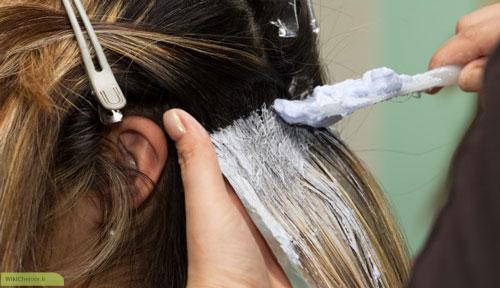 دکلره روی موهای طبیعی و غیر طبیعی
