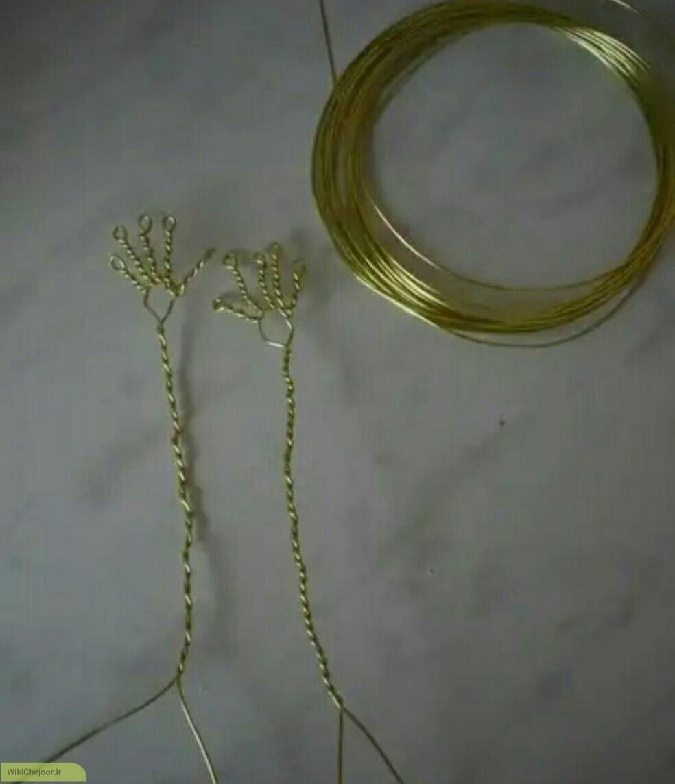 مراحل ساخت گلدان دکوری