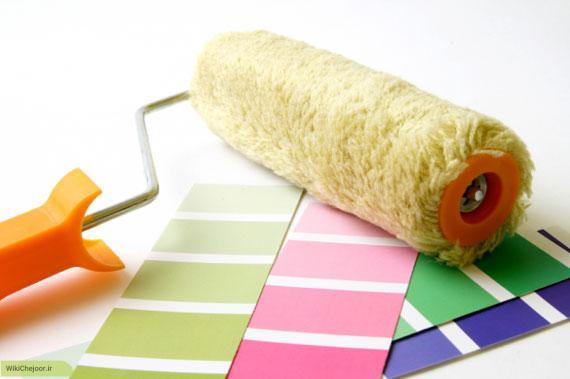 چگونه خانه خود را بدون حضور نقاش رنگ کنیم؟