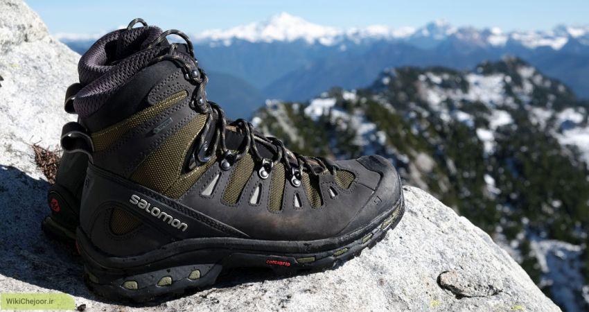 چگونه کفشی مناسب کوهنوردی است؟