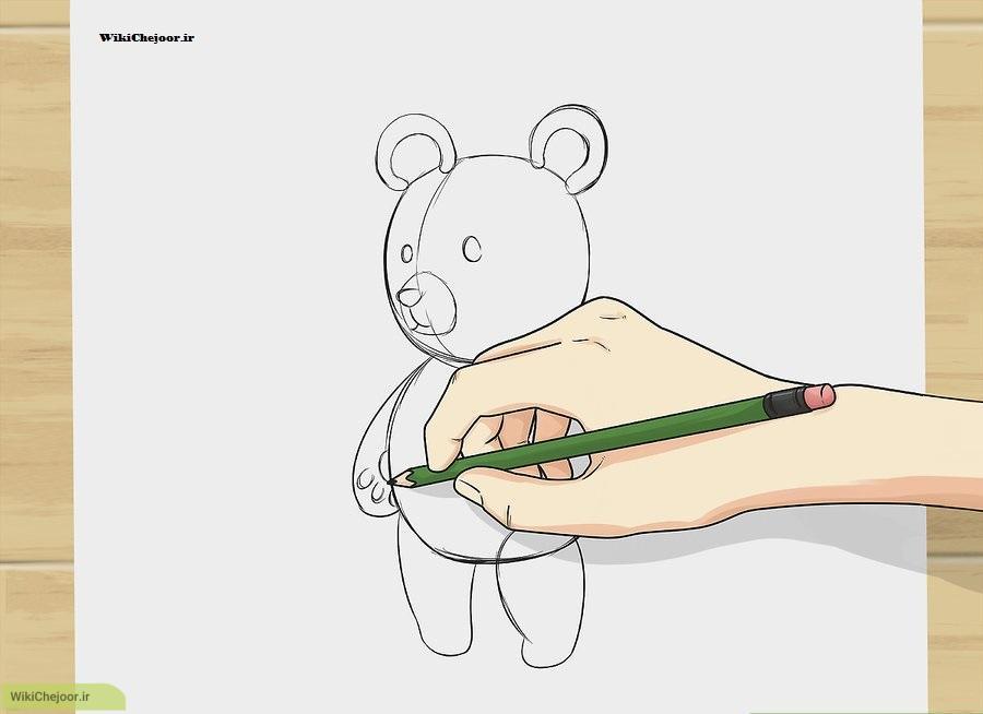 رسم خرس تدی