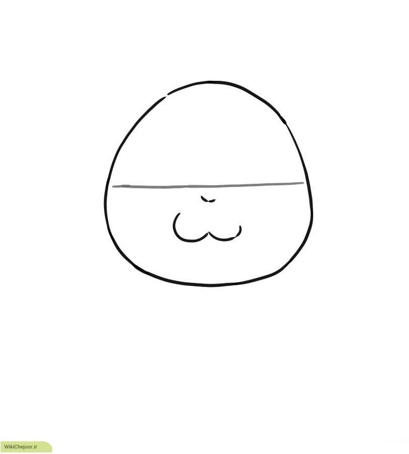 ترسیم نقاشی همستر