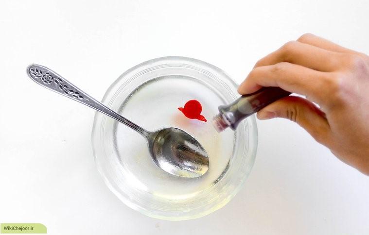 مراحل درست کردن صابون گل رز