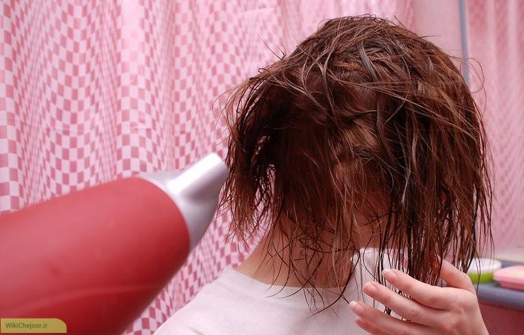 مراحل داشتنموهایی نرم و صاف بدون استفاده از محصولات مراقبت از مو