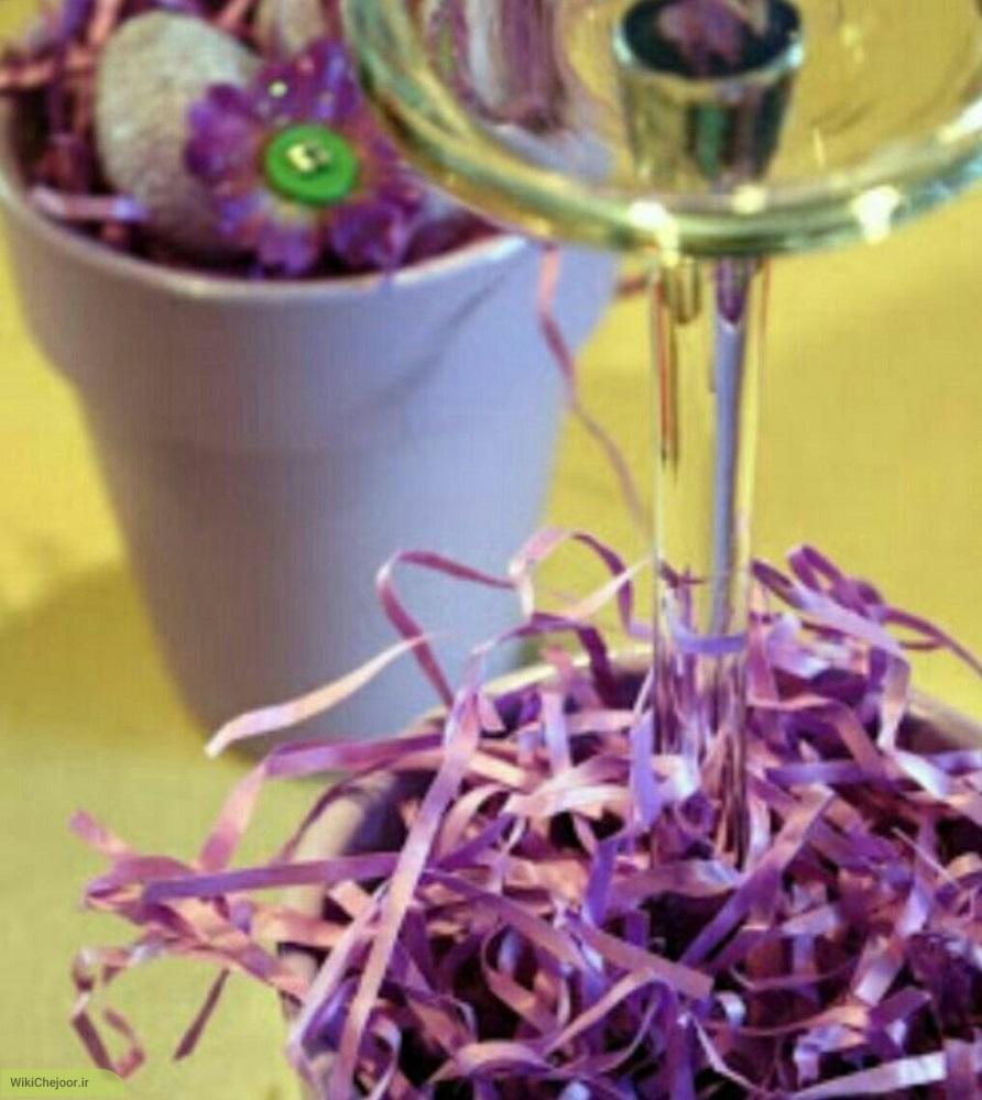 آموزش گلدان جا شمعی دکوری