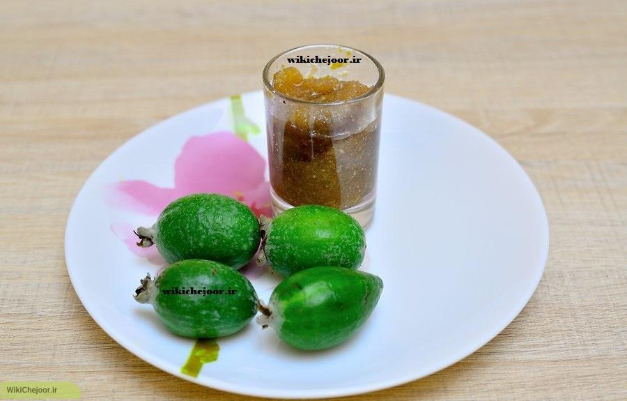 موارد مورد نیاز مربای میوه ی فوجیا