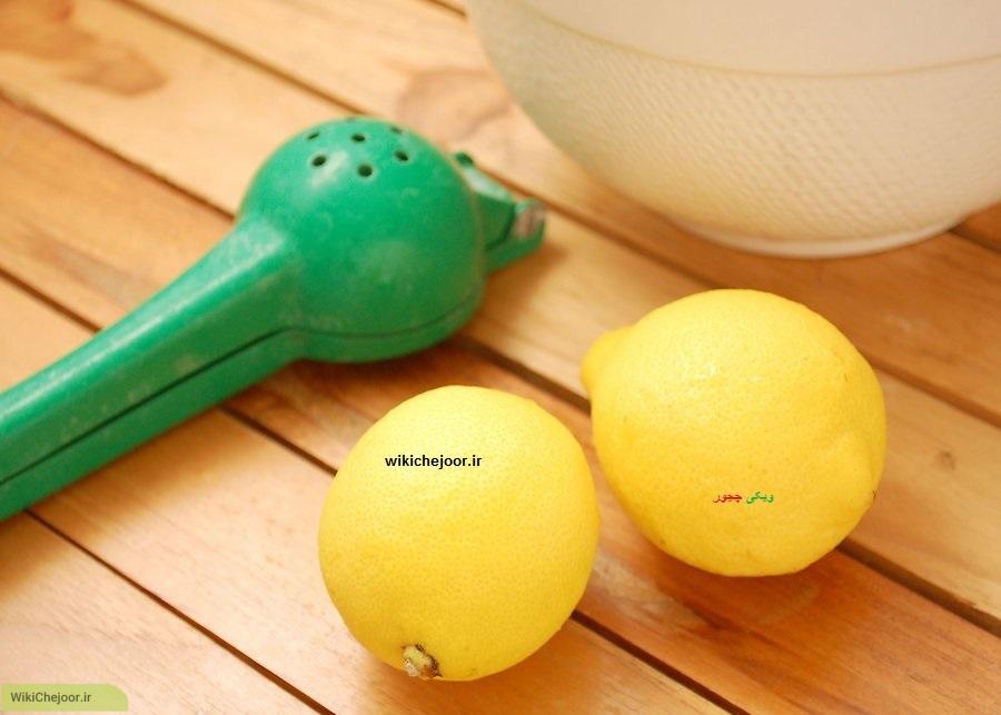 طرز درست کردن لیموناد (روش دوم)