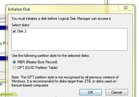 مراحل پارتیشن بندی هارد دیسک