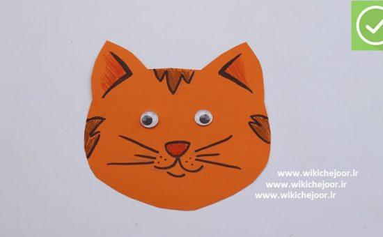 چگونه یک گربه کاغذی درست کنیم؟