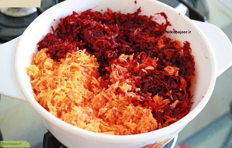 درست کردن پنکیک سبزیجات هندی