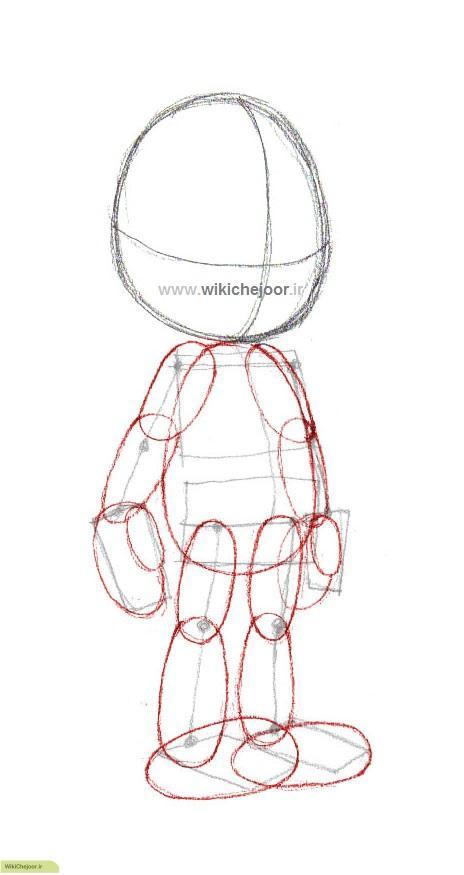 آموزش نقاشی پینوکیو
