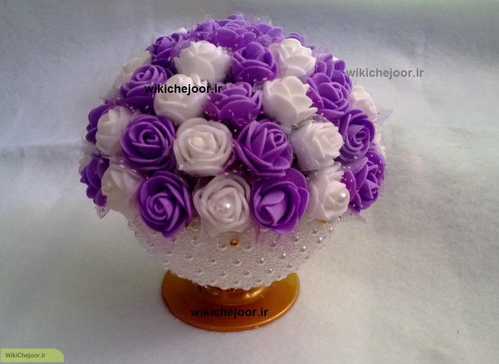 گلدان مرواریدی (مدل 1)
