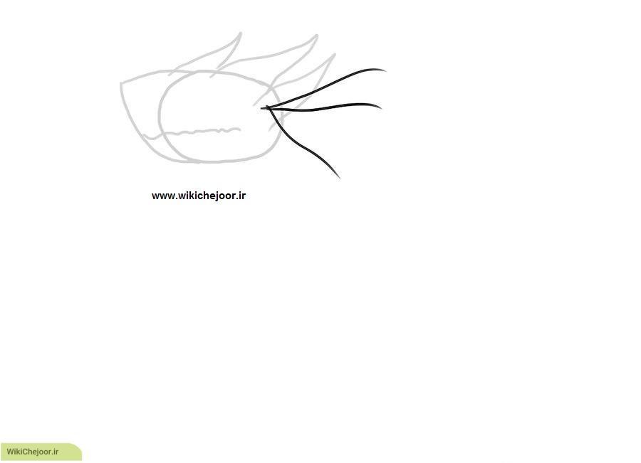 نقاشی اژدهای آبی