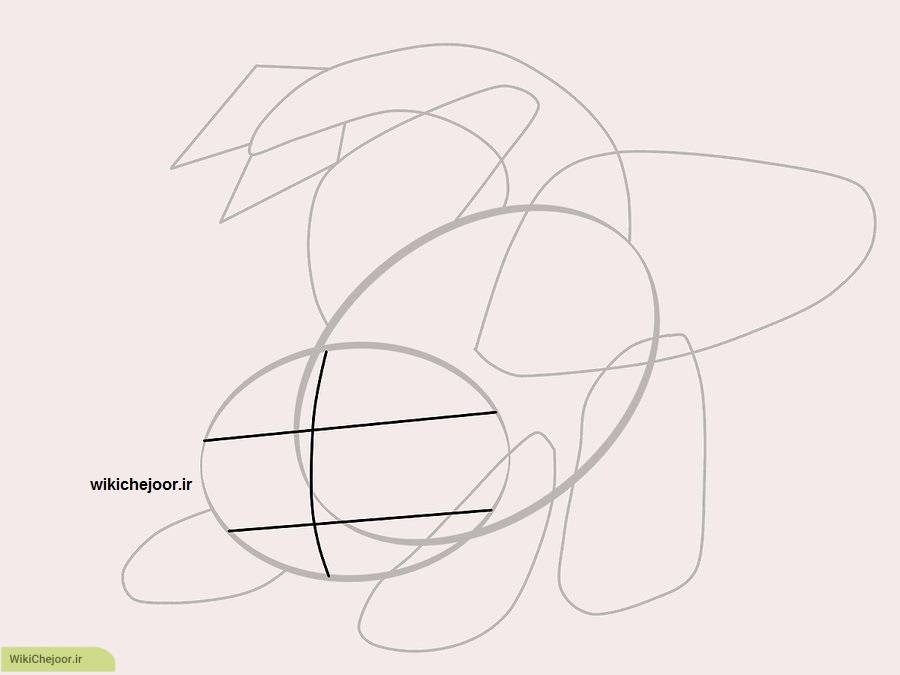 نقاشی اژدهای بی دندون (حالت دوم)