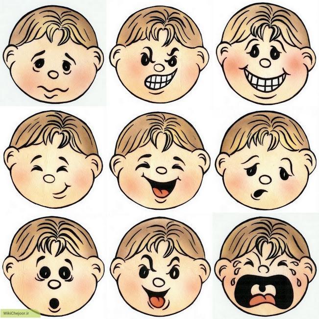 چگونه حالات متنوع چهره ی کارتونی و انیمیشنی رسم کنیم؟