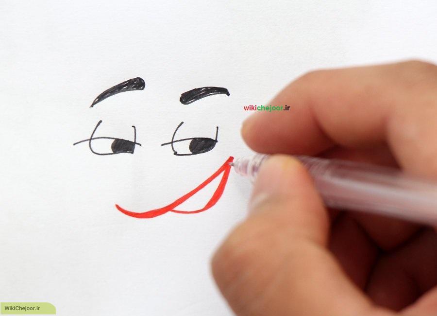 نقاشی لبخندها