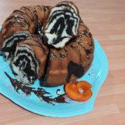 طرز تهیه کیک مرمری یا زبرا