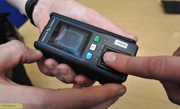 نحوه کار کرد اسکنر اثر انگشت ( Fingerprint scanner )