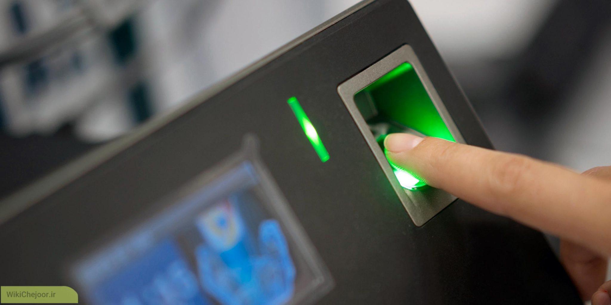اسکنر اثر انگشت نوری ( Optical fingerprint scanner )
