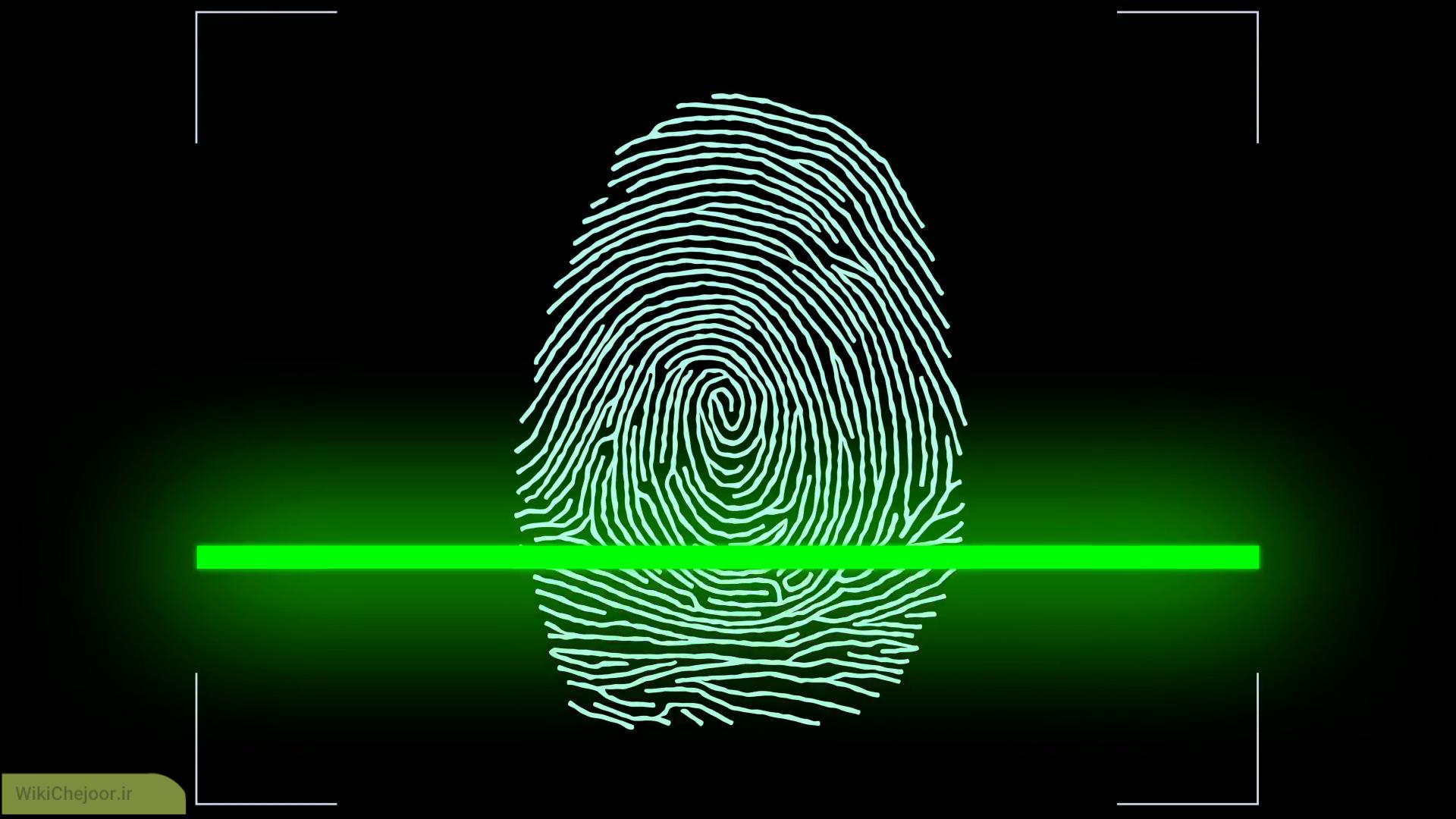 در پروسه اسکن اثر انگشت ( Fingerprint scanner ) چه عملیاتی انجام می شود؟