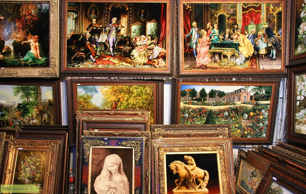 چگونه برای خانۀ خود، آثار هنری، تابلو نقاشی و صنایع دستی مناسب انتخاب کنیم؟