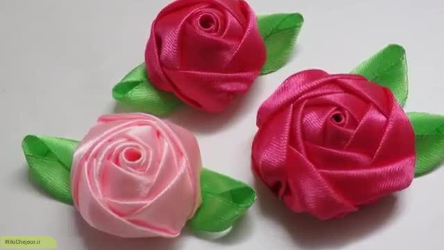 rose's flower with ribbon