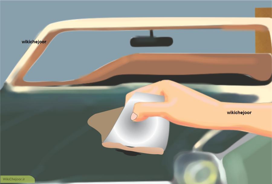 آماده سازی برای نقاشی ماشین