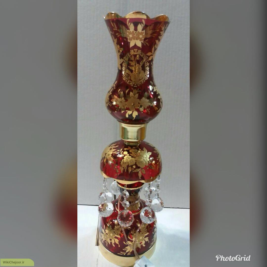 چگونه آبکاری طلا روی شیشه بزنیم؟