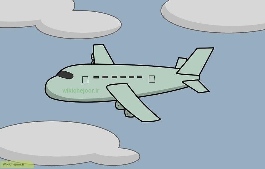 هواپیمای کارتونی