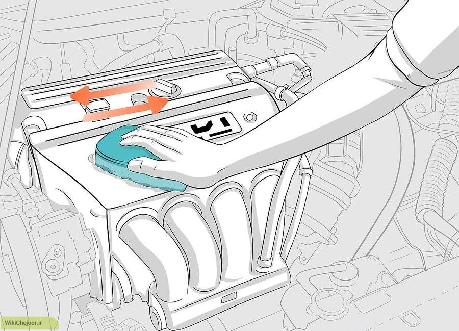 How to Clean a Car Engine