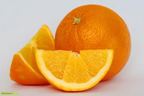 چگونه پرتقال رسم کنیم؟