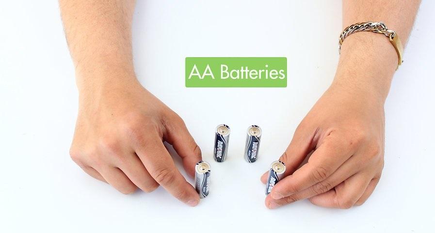 استفاده از یک باتری برای شارژ باتری دیگر