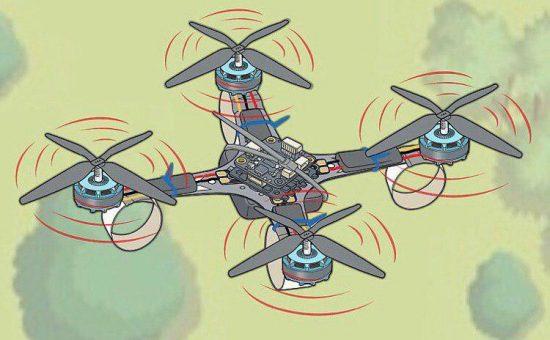 چگونه هواپیمای بدون سرنشین(کوادکوپتر) بسازیم؟