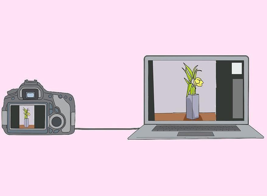 استفاده از دوربین