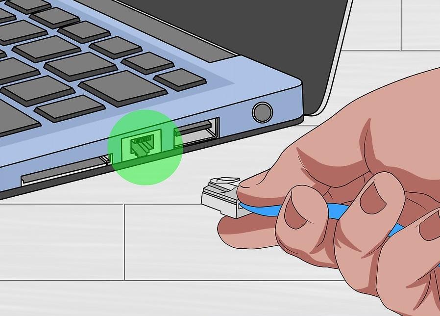 چگونگی اتصال کامپیوترها