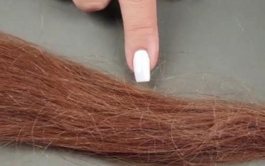 چگونه موهای سفید را رنگ کنیم؟