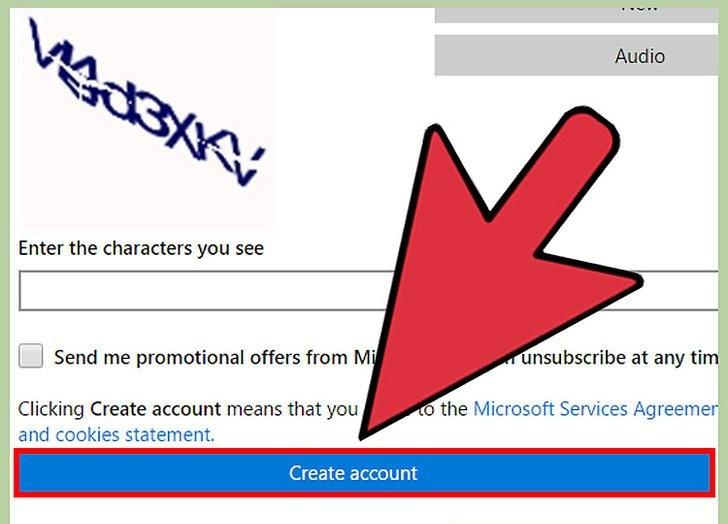 ایجاد یک حساب کاربری مایکروسافت در One Drive