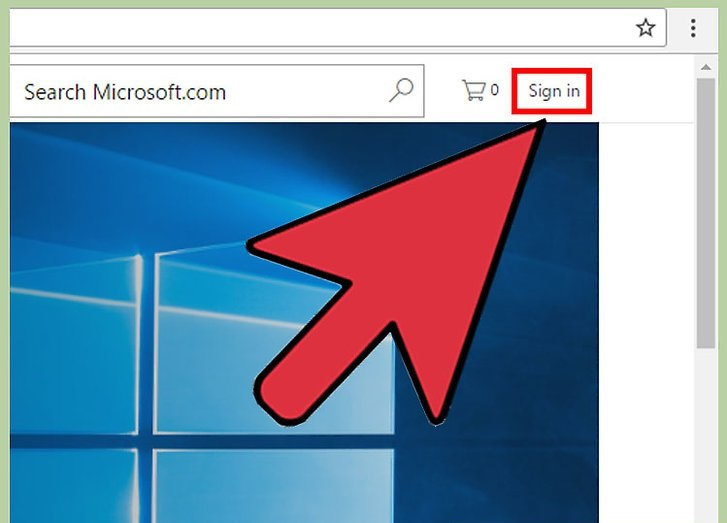 ایجاد حساب کاربری مایکروسافت