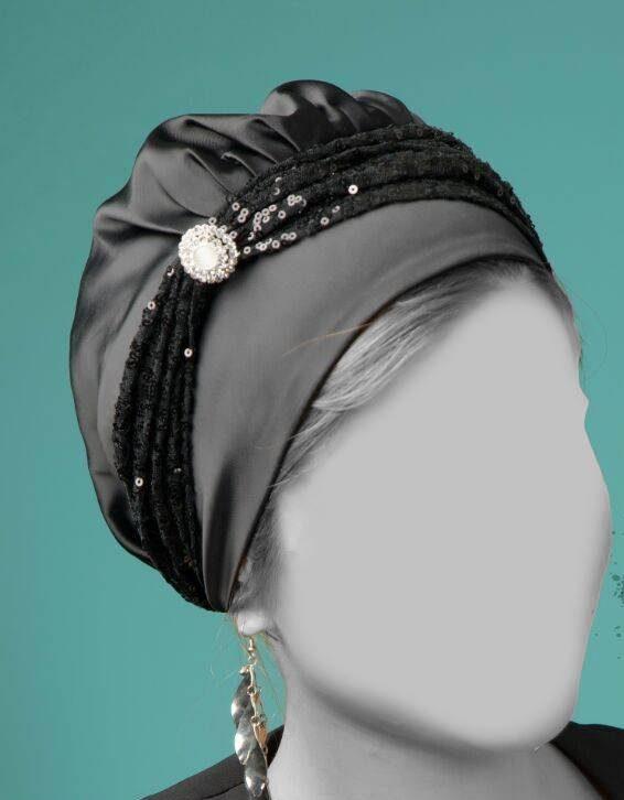 چگونه کلاه حجاب بدوزیم و به جای روسری و شال ، در مهمانی استفاده کنیم؟