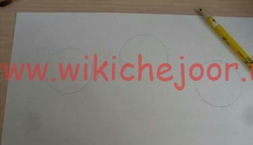 رسم کردن شکل روی کاغذ