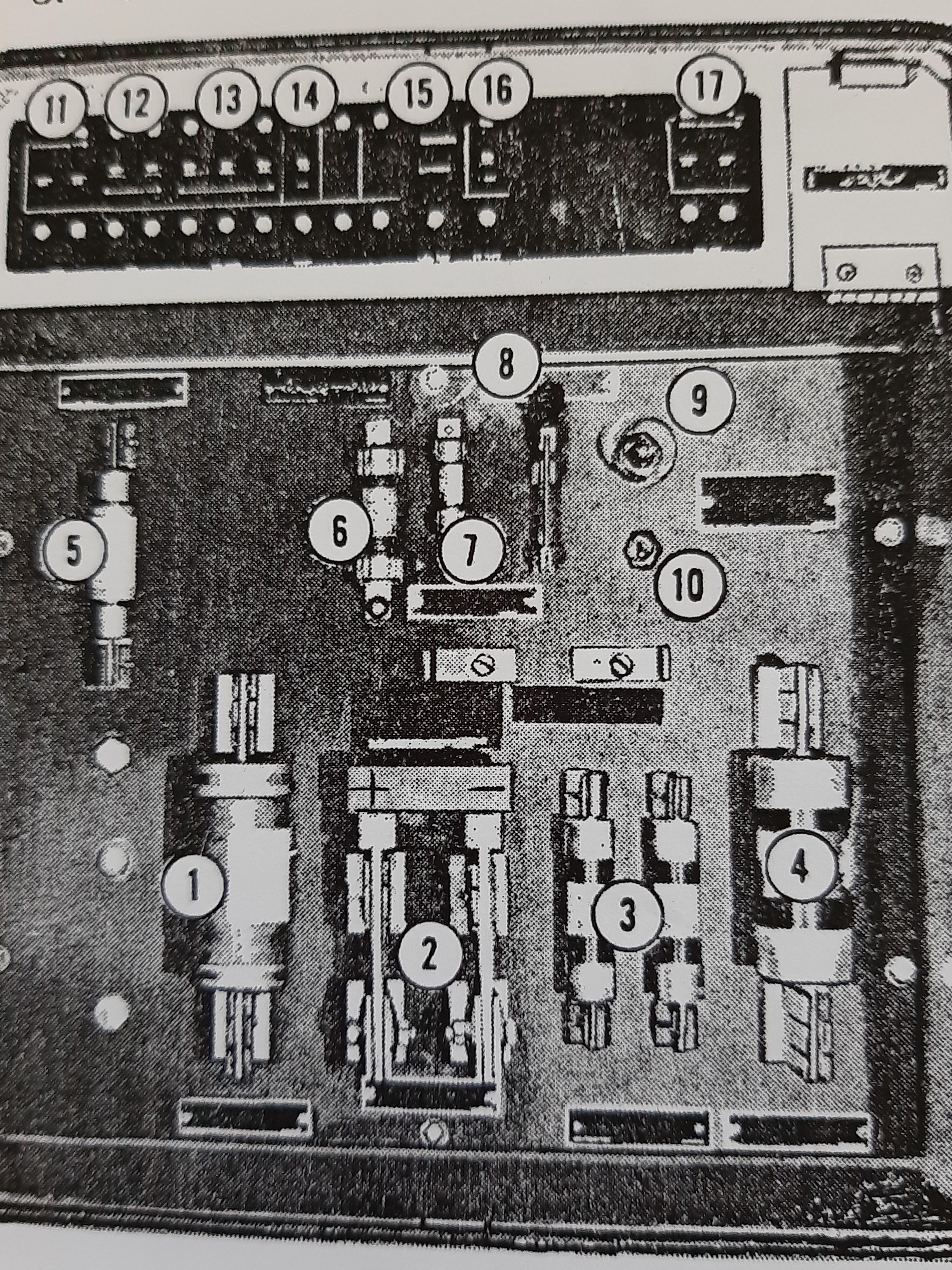 چگونه کلید های تیغه ای و فیوز ها برای روشن کردن GT 26 cw را بشناسیم؟